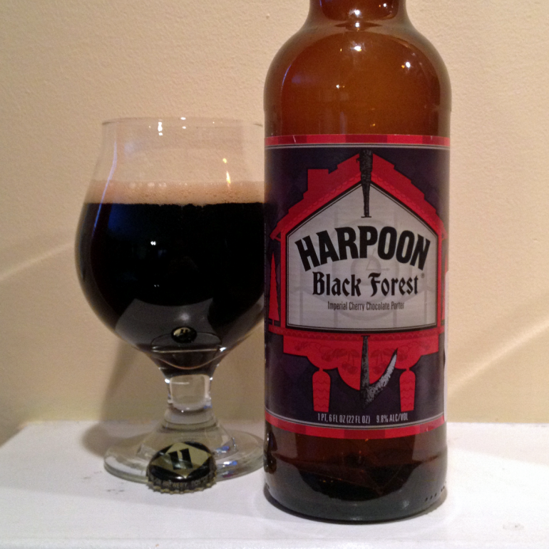 Steph's New Brew Review: Harpoon Black Forest