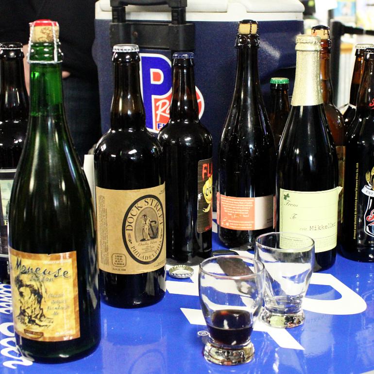 Berks Beer Traders Holds First Bottle Share