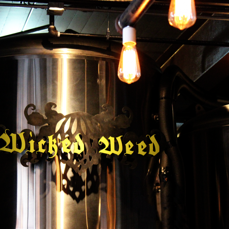 Whetting Whistles at Wicked Weed Brewing