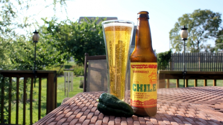 Steph's New Brew Review: Green Chile Lager