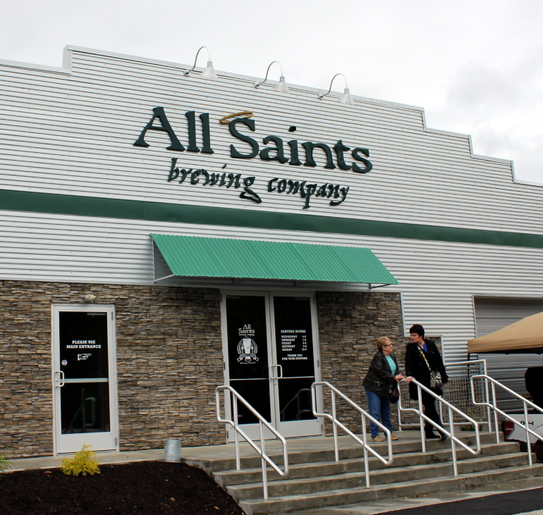 Feel at Home at All Saints Brewing