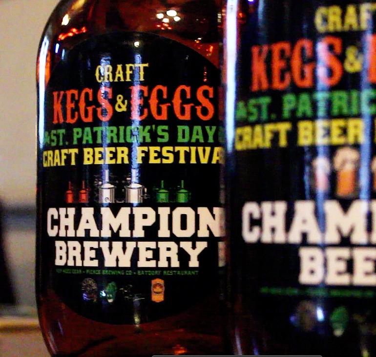 Video – Kegs & Eggs Brewfest at the Batdorf Restaurant