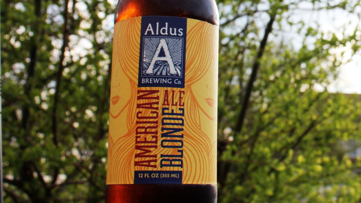 Steph's New Brew Review: Aldus American Blonde Ale