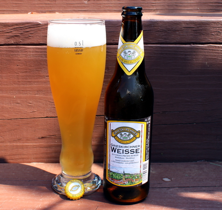 Steph's New Brew Review: Grieskirchner Weisse
