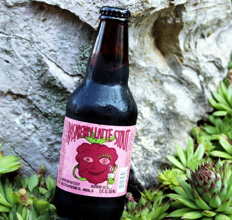 Steph's New Brew Review: Raspberry Latte Stout