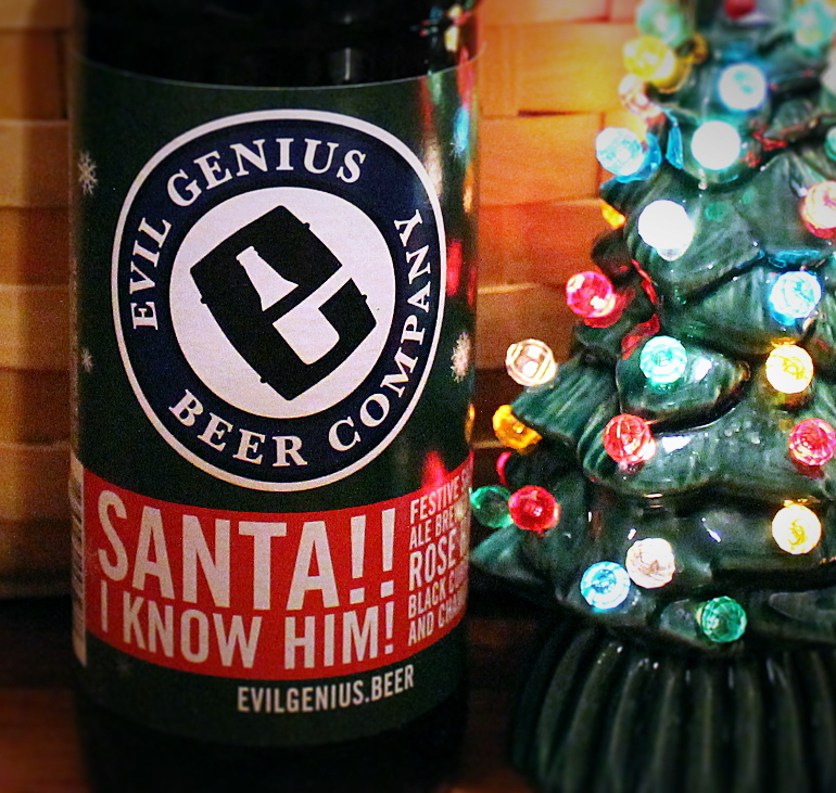 Steph's New Brew Review: Santa!! I Know Him!