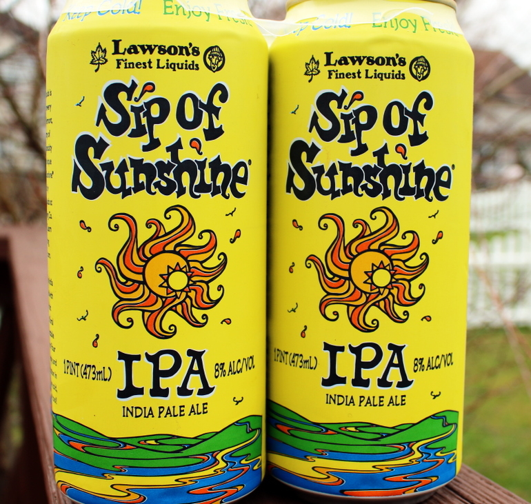 Steph's New Brew Review: Sip of Sunshine