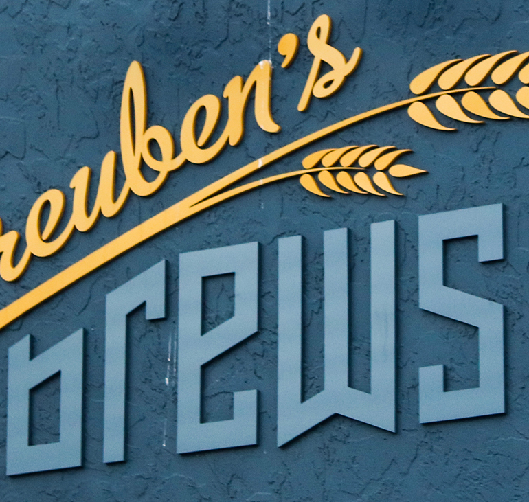 The Much-Accoladed Reuben's Brews