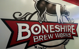 Imbibing Beers at Boneshire Brew Works